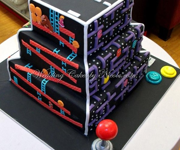 The Ultimate Arcade Game Cake