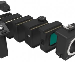 Aspekt Modular SLR Camera Concept: Connecti-Cam
