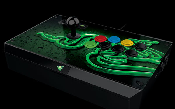Razer Atrox Arcade Stick for the Xbox 360 Requires No Quarters to Play