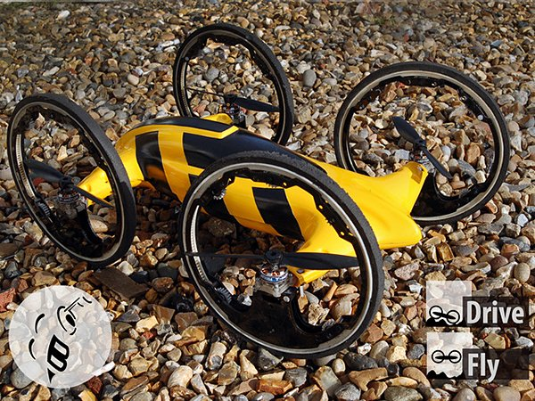 b remote controlled car quadcopter by don vitenzo
