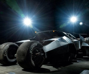 Street Legal Batman Tumbler Replica Rises