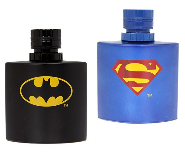 Batman and Superman Colognes Make You Smell Super, Man.