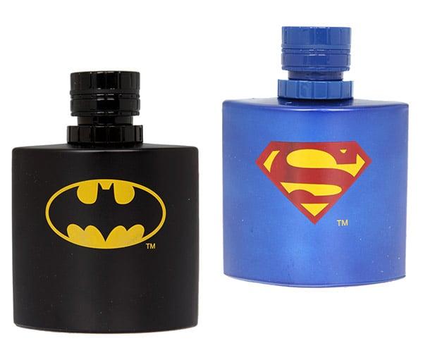 Batman And Superman Colognes Make You Smell Super, Man