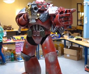 Warhammer 40K Blood Angels Costume: Don't Mess with the Space Marines