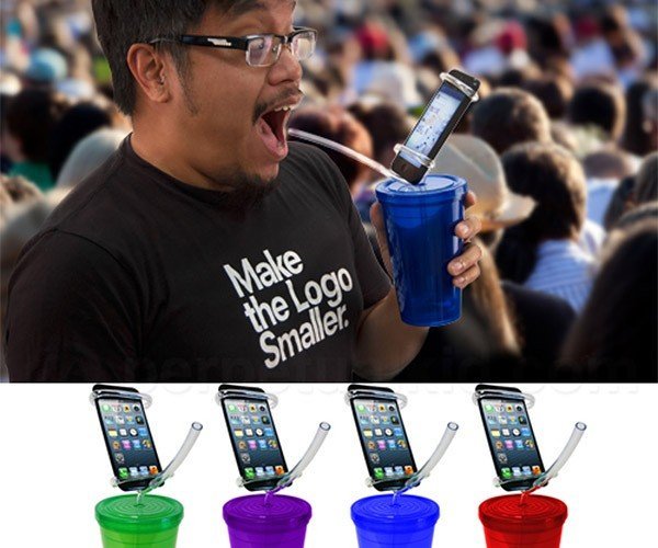 Cell Phone Party Cup – Never Miss Another Tweet