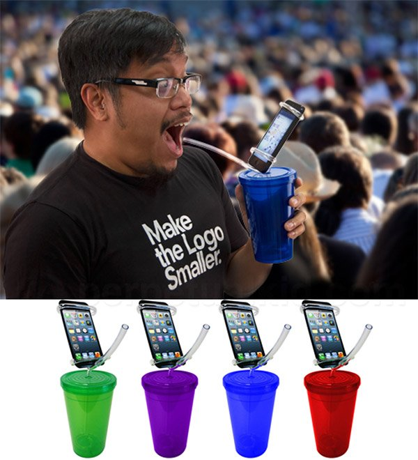cell phone party cup