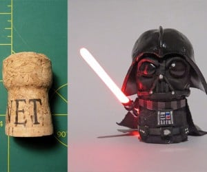 Champagne Cork Darth Vader: Let's Toast to the Dark Side
