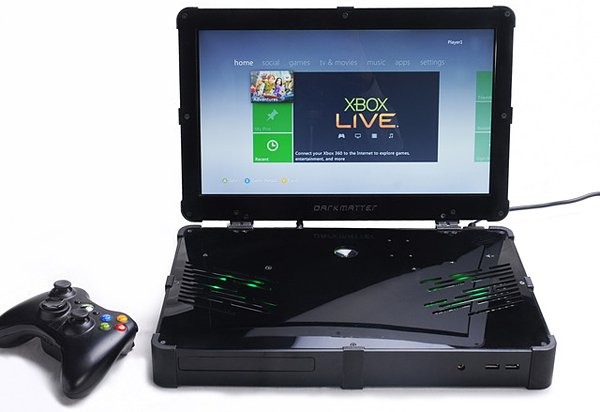 Build Your Own Xbox 360 Laptop with the Darkmatter Kit