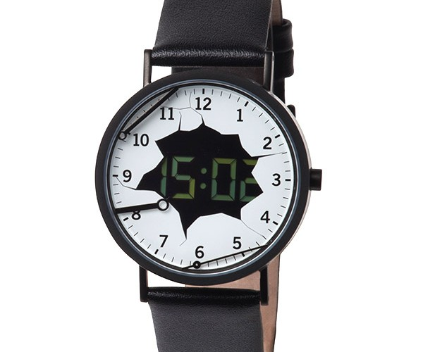 Analog Watch Really Wants to Be Digital