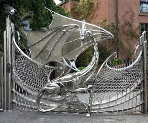 Dragon Gate Guards Driveway: Fire and Blood (and Steel)