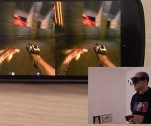 Durovis Dive Head-Mounted Display Uses Android Smartphone: Oculus Thrift