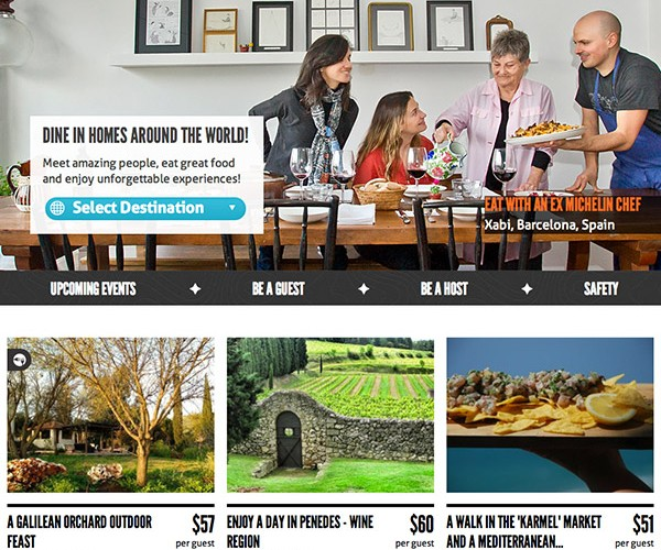 EatWith Turns Homes into a Private Restaurants