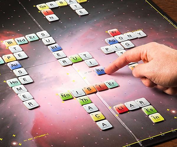 Elemensus Periodic Table Spelling Game: ScRaBBL