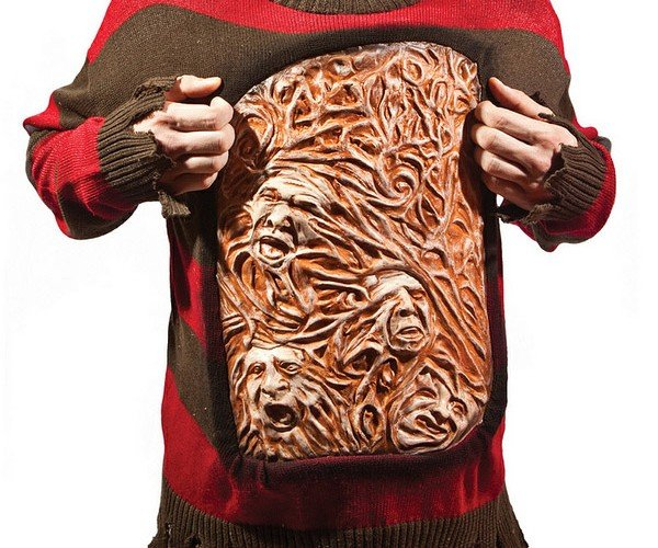 Freddy Kreuger Animated Sweater of Souls: Every Day is Halloween