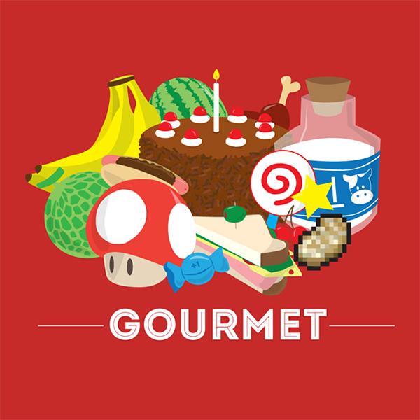 gourmet t shirt by sparkmark 2