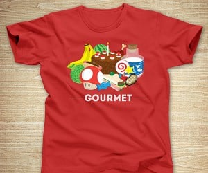 Video Game Gourmet T-Shirt: Edibles in Electronic Entertainment