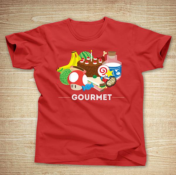 gourmet t shirt by sparkmark
