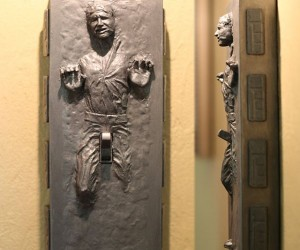 Han Solo in Carbonite Light Switch: Flick His Switch and Turn Him on