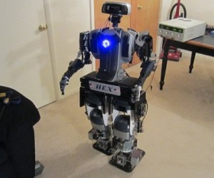 Ex-cop Builds a Robot, Surprisingly Not Robocop