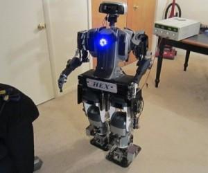 Ex-cop Builds a Robot, Surprisingly Not Robocop