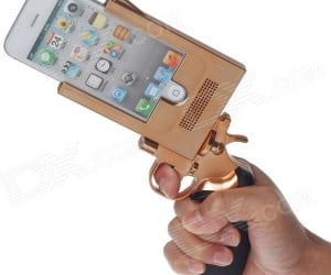 Pistol iPhone 5 Case Offers Plenty of Bang for Your Buck