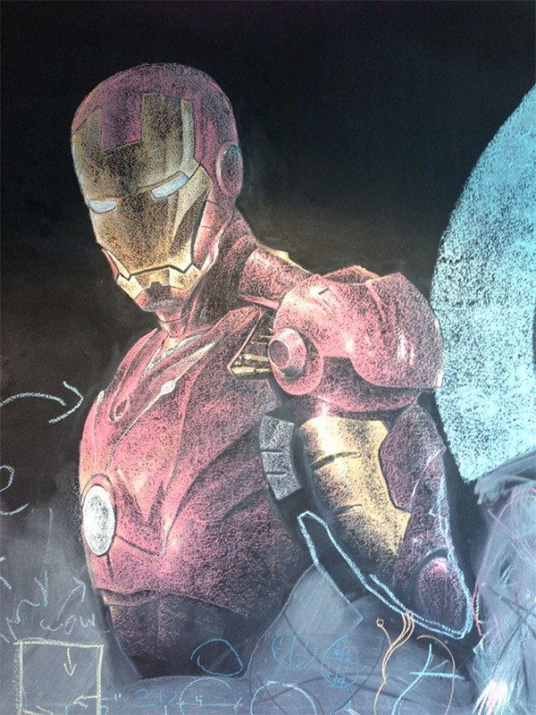 iron man chalkboard 1