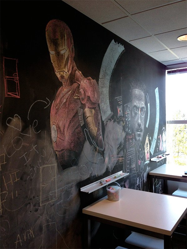 iron man chalkboard