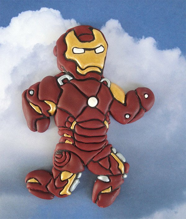 iron man cookie