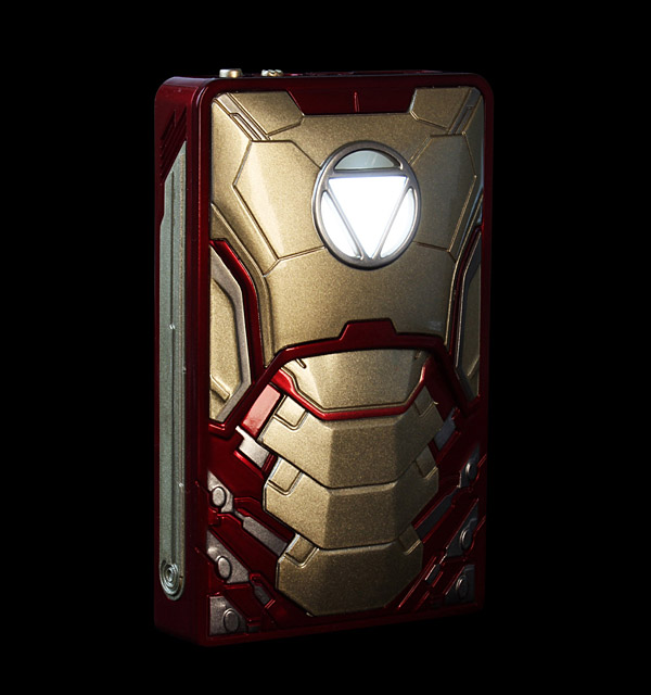 Iron Man Gadget Charger: Mark USB Armor - Technabob