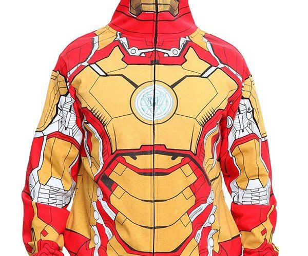 Iron Man Hoodies: Mark 60/40 Cotton/Poly Blend Armor