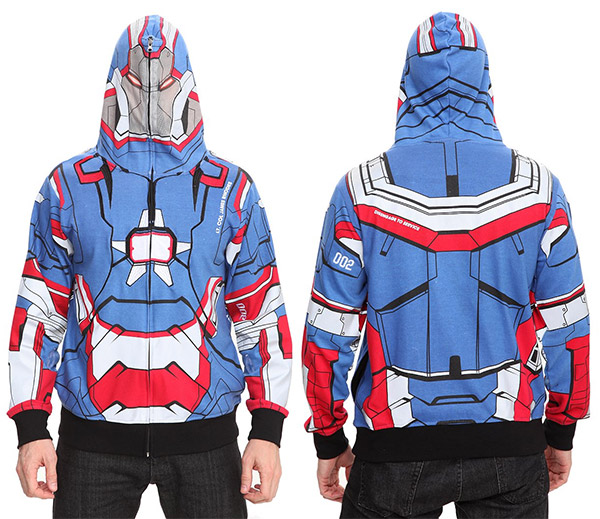 iron patriot hoodie