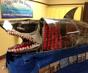 Great White Shark Made from Junk: We're Gonna Need a Bigger Garbage Truck