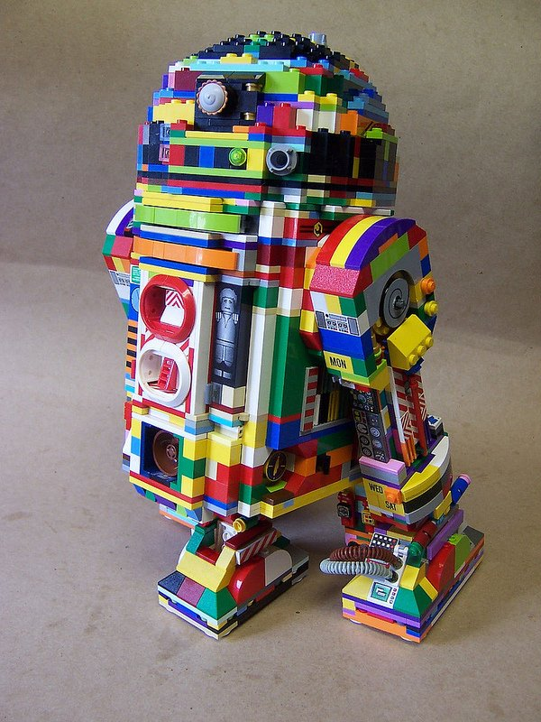 lego r2 d2 by matt armstrong monsterbrick
