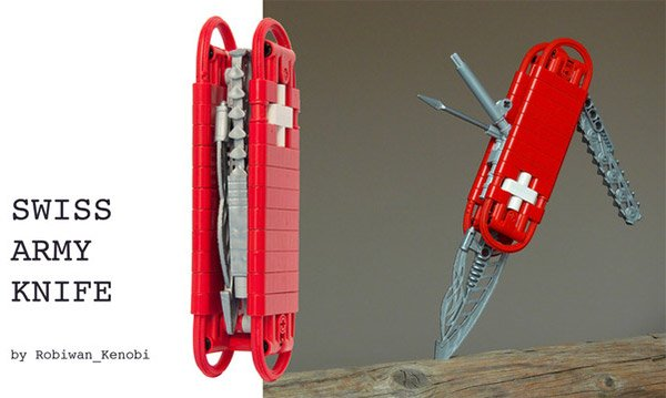 LEGO Swiss Army Knife: Shouldn't It Be a Danish Army Knife?