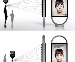 Lenticular Lens Trick Creates Child Abuse Ads That Only Children Can See
