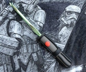 Lightsaber Crochet Hook Makes You Obi-Wan Craftobi