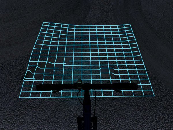 lumigrids led lights bicycle deformed photo