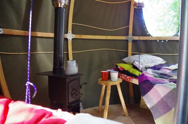 luminair tree tent inside photo
