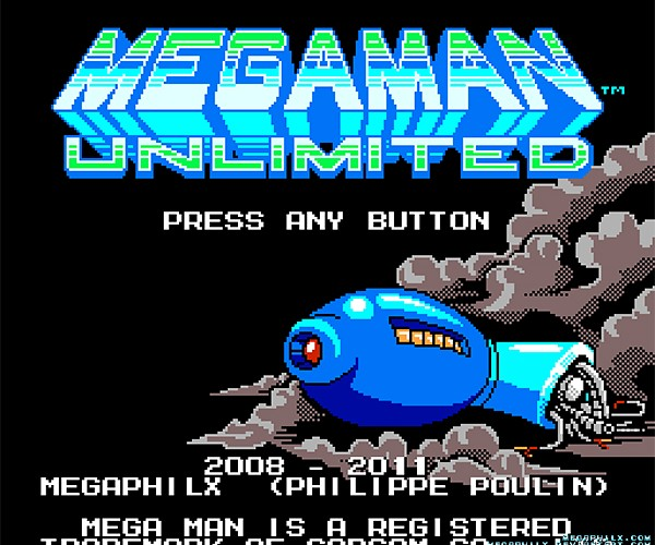 Mega Man Unlimited Fan Game: Hold on to Your Heart Tank