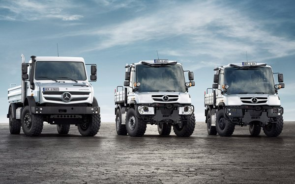 Mercedes-Benz Unimog: The Truck to Fight World War Z In