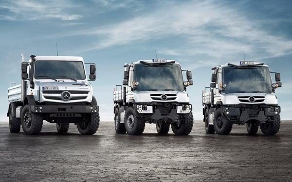 Mercedes-Benz Unimog: The Truck to Fight World War Z In