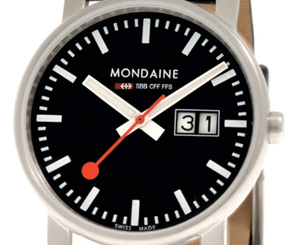 If You Love the iOS Railway Clock, Check out This Official Watch from Mondaine