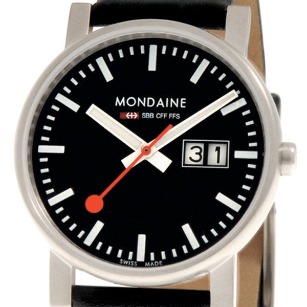 mondaine evo swiss railway watch photo
