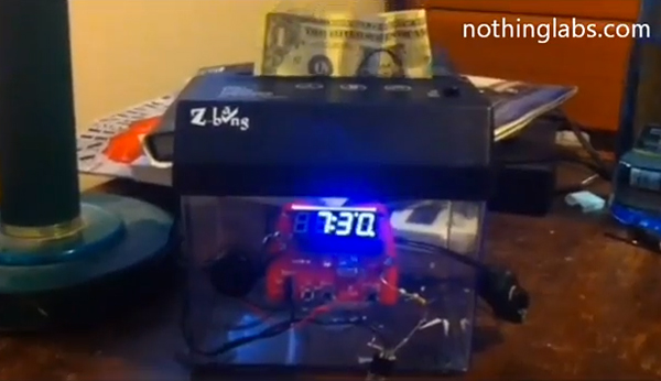 DIY Money Shredding Alarm Clock: Wake up or Go Broke