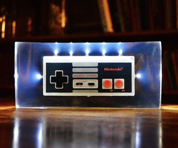 NES Controller Night Light is a Brilliant Idea