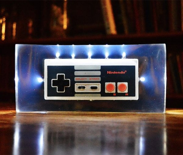 nes controller night light 1