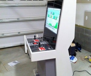 nintendo nes arcade cabinet by mystery smelly feet 3 300x250