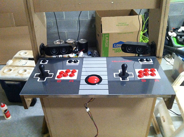 NES-themed Arcade Cabinet: Forward Compatibility
