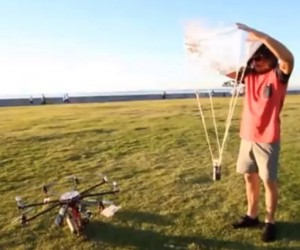 Beer-dropping Octocopter is the Robot We Are Looking for