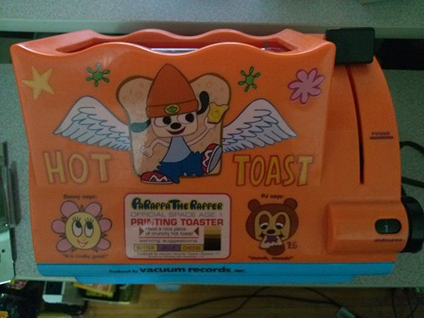 PaRappa the Toaster: Kick! Punch! Toast!